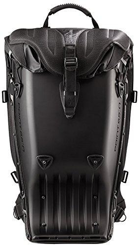 Boblbee GTX-Rucksack Rückenprotektor schwarz matt 20L