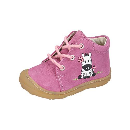 RICOSTA Mädchen Lauflern Schuhe Lucky von Pepino, Weite: Mittel (WMS),terracare, detailreich Freizeit schnürschuh flexibel,Enigma,19 EU / 3 Child UK