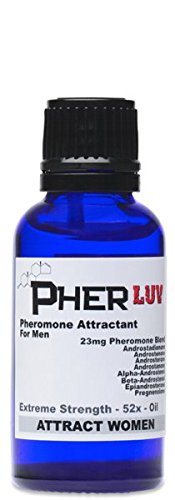 PherLuv Pheromone Cologne OIL for men 1 oz. (Attract Women) Sex Attractant