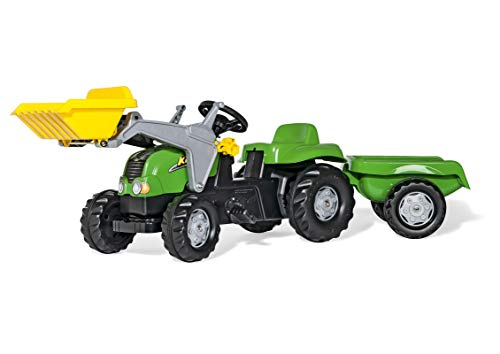 Rolly Toys rollyKid-X Pedal Tractor - Juguetes de Montar (1610 mm, 470 mm, 550 mm, 9,2 kg, 815 mm, 400 mm)