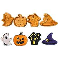 Zakally Halloween Baking Molds Set