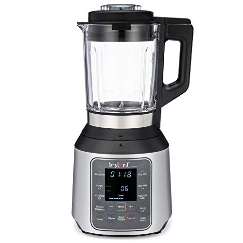 Instant Ace Nova Blender, 56 oz Glass Pitcher, Hot & Cold Settings, Smoothie, Crushed Ice, Nut...