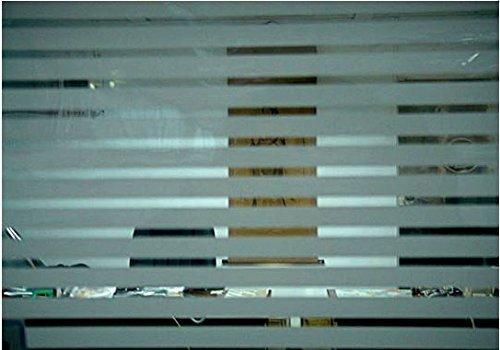 TipTopCarbon 6,57€/m² Fenster Sichtschutzfolie Milchglasfolie LINE10 Breite Fensterfolie Design Dekofolie Folie Selbstklebend
