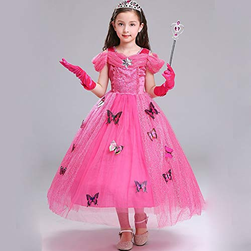 Xiao Jian danskostuum voor kinderen, sneeuwwitje, rok jurk, ijsvorzen, Aisha Princess Dress, Performance kostuum voor kinderen, 3-12 jaar, de kleine kinderwort dansvorm