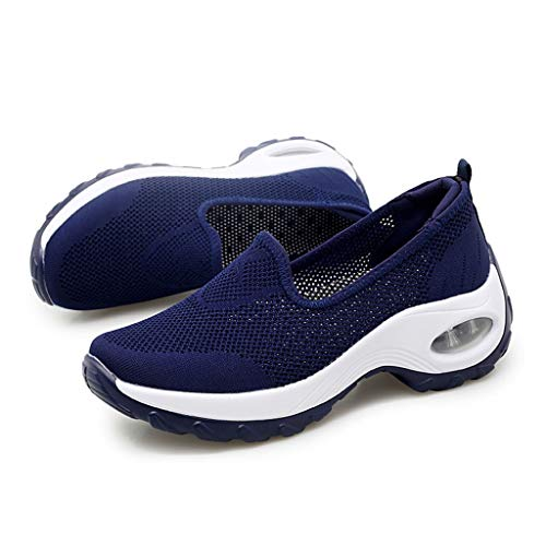 URIBAKY Mesh Leichte Schuhe Damen,Trainingsschuhe-Walking-Jogging-Laufen Frühling Sommer Sportschuhe,Sneakers Fitness Air Turnschuhe,Trainingsschuhe