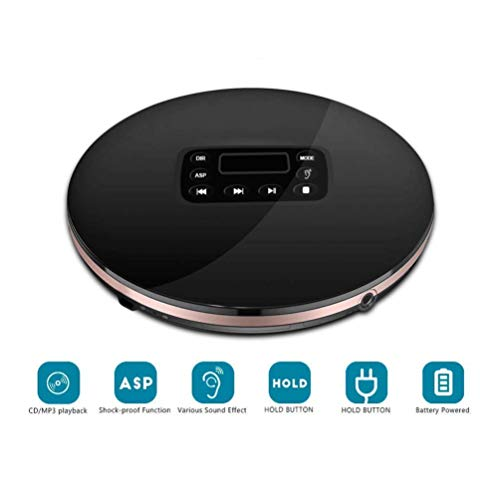 Draagbare cd-speler, stijlvolle uitstraling en een perfecte LCD display geven eenvoud, ruisonderdrukking functie kan high-definition stereogeluid te bieden
