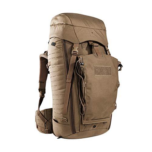 Tasmanian Tiger TT Rucksack Modular Pack 45+ Molle-Kompatibler Backpacker Reise-Rucksack Abschließbar 50L Volumen, Coyote Brown