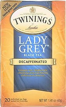 Twinings Tea Lady Grey Tea Decaf 20 ct