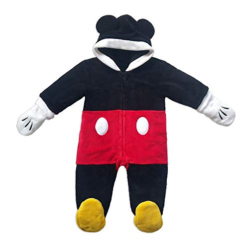Disney Mickey Mouse Snuggle Suit for Baby, Size 18-24 Months