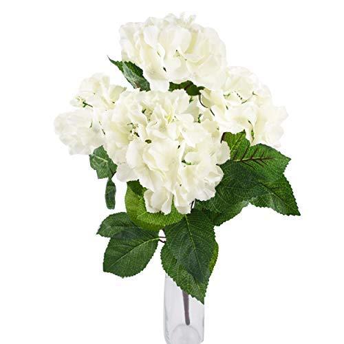 Herran Flores Artificiales De Seda Flores Violetas para Mesa