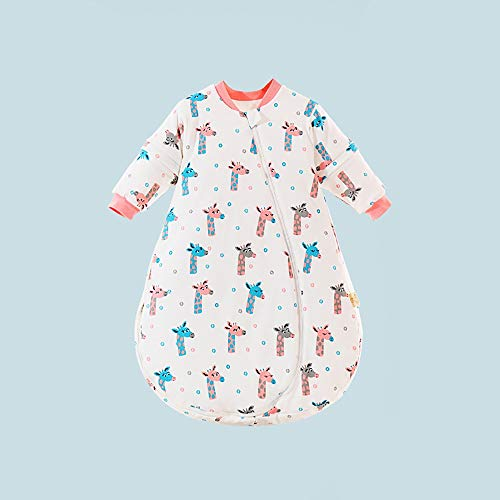 LUFKLAHN De Dibujos Animados en Forma de U Saco de Dormir, Grueso y Suave del Anti niños Tiro del edredón (Color : F, Size : 100)