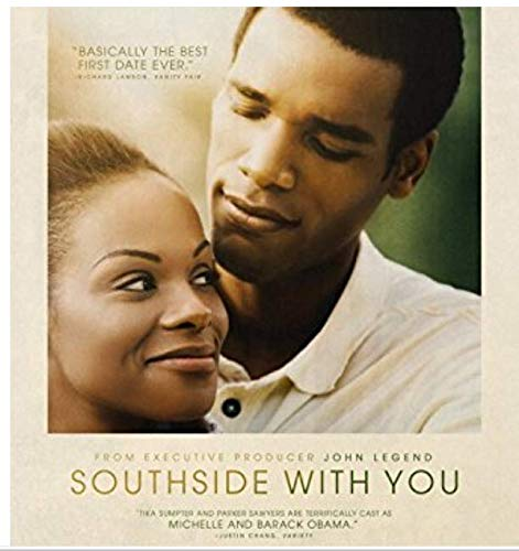 SOUTHSIDE WITH YOU Original Movie Promo Poster - RARE - 13.5'x20' - Single-Sided - Obama