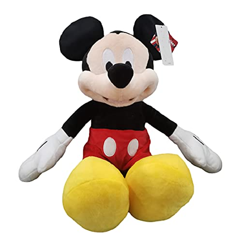 agzhu 46Cm Mickey Mouse Clubhouse Peluches de Peluche Mickey Muñeca Suave para niños Regalos de cumpleaños
