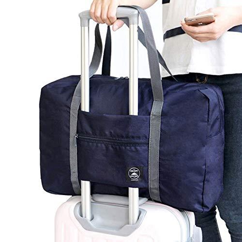 Cleave Wave Reistas, handtas voor dames, schoudertas, weekend, voor heren, marineblauw