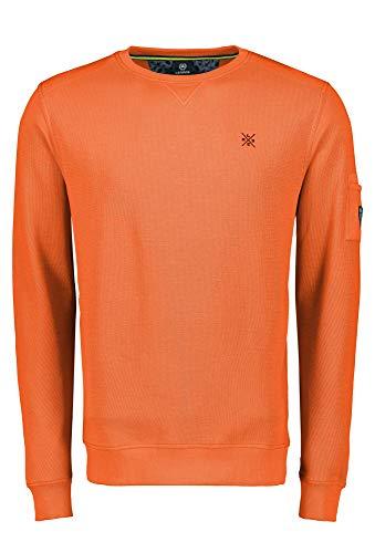 LERROS Sweatshirt/Troyer/RH/V-NE, orange(strongorange (925)), Gr. M