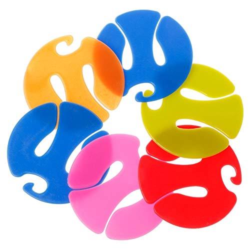 12st / Packung Socken-Clips Bunte Socken-Organizer Sorter-Halter Praktische Sock Sorter Schlösser Clips Wäscherei Lagerung Trocknung Halter-Speicher-organisator-Werkzeug Für (zufällige Farbe)