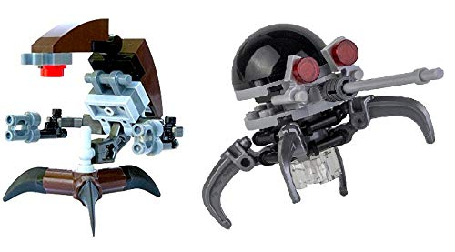 LEGO Star Wars: Destroyer Droid and Dwarf Spider Droid Lot Droideka