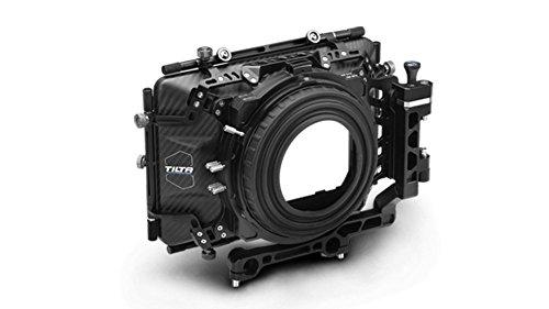 Tiltaing 4×5.65 Carbon Fiber Matte Box for 15mm Rail Support Rig DSLR HDV Rig DSLR BMCC(MB-T04)