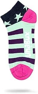 Unabux Zapatillas Calcetines Calcetines Patucos struempfe para Hombre o Mujer–Doble Paquete Talla 41–46