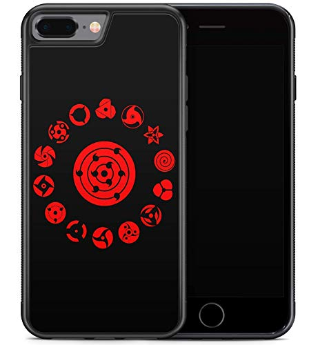 Inspired by Naruto Sharingan iPhone X XR 7 8 plus Xs Max Case iPhone Xs Case iPhone 7 8 Case Manga M182