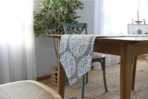 BiuTeFang Tafelloper Tafellaken, linnen, doek, tafelvlag, tafelkleden, salontafelkleed Feestdecoratie 30X180cm