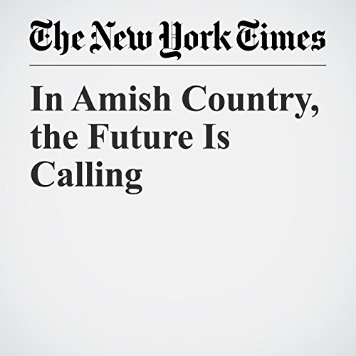 In Amish Country, the Future Is Calling copertina
