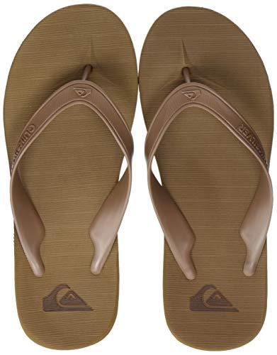 Quiksilver Carver II Deluxe, Zapatos de Playa y Piscina para Hombre, Marrón (Tan/Solid Tkd0), 44 EU