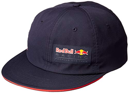 Red Bull Racing Unisex Aston Martin Light Flatbrim, Night Sky Baseball Cap, Blau (Navy Navy), (Herstellergröße: One Size)