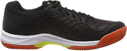 Asics Gel-Dedicate 6 Clay, Zapatillas de Tenis para Hombre, Negro (Black/Silver 001), 44 EU