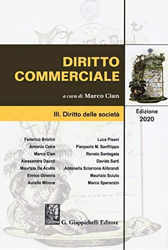 Diritto commerciale. Diritto delle società (Vol. 3)