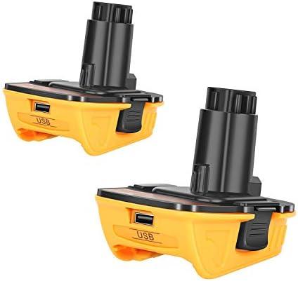 2Pack DCA1820 Battery Adapter for Dewalt 18V to 20V Adapter Converter for Dewalt 18V Tools Convert product image