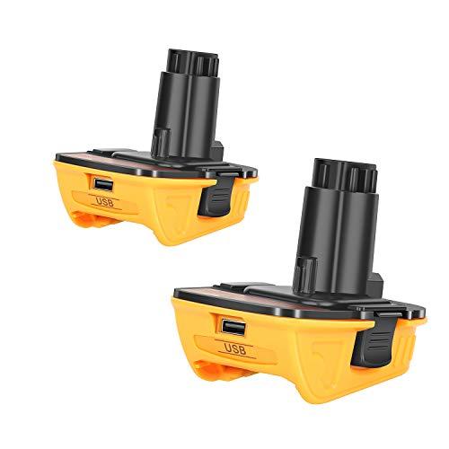 2Pack DCA1820 Battery Adapter for Dewalt 18V to 20V...