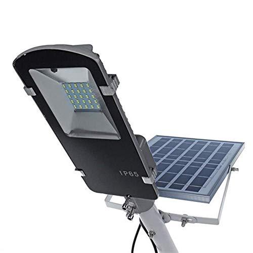 ZTBXQ Solarleuchten Sicherheitsbeleuchtung für den Außenbereich LanglebigesLED-Licht 25LED 10W 400LM Solarbetriebener Lichtsensor Straßenlaterne mit Rmote-Steuerung Wasserdicht
