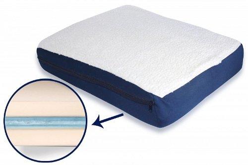 Cojin de espuma alta densidad gel anatomico confortable terapeutico coche casa..