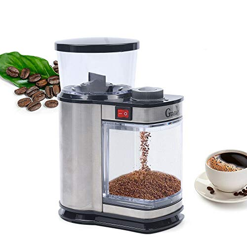 Electric Burr Coffee Grinder with 9 Grind Speeds,for Espresso, Drip Coffee