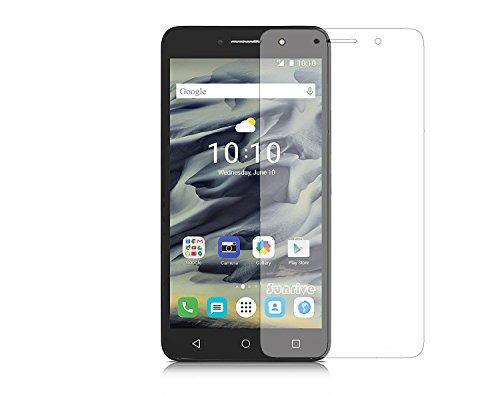 Sunrive para Alcatel Pixi 4 6,0 Pulgadas 4G 9001D, Protector de Pantalla de Cristal Templado Ultra-Clear con 9H dureza y fácil instalación