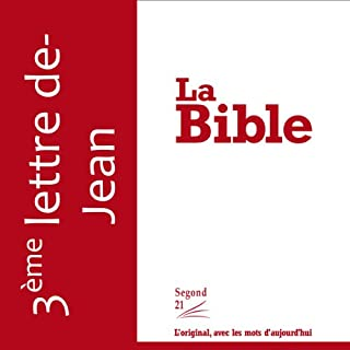 Couverture de Troisième lettre de Jean - version Segond 21