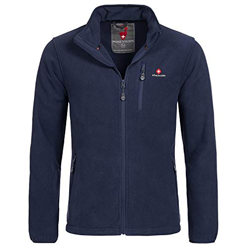 Höhenhorn 5J2 Eigler Herren Fleece Jacke Full Zip Navy Gr. XL