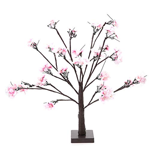 Cherry Tree Shape Lamp, Indoor 24st LED Home Party Decor Light