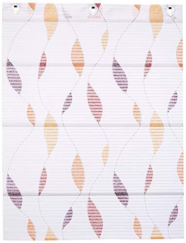 Home Fashion Magnetrollo Querstreifen Digitaldruck Paolo, Multicolor, 130 X 100 cm