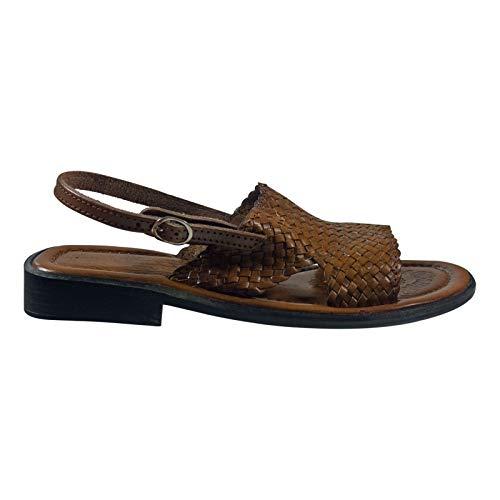 Andrea Doria Damenschuhe Sandale; Farbe: Braun; Größe: 41 EU; Obermaterial: Leder; Innenmaterial: Leder; Laufsohle: Sonstiges Material