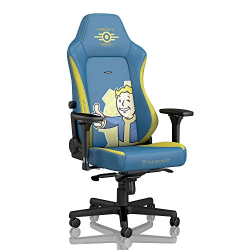 noblechairs Hero Gaming Chair - Office Chair - Desk Chair - PU Faux Leather - Fallout Vault-Tec Edition