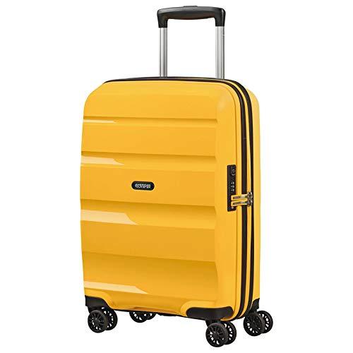 American Tourister Bon Air DLX Valigia trolley (4 ruote) giallo 55 cm