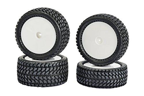 Carson 500900136 - All Terrain 4WD Reifen-Set 4, Zubehör