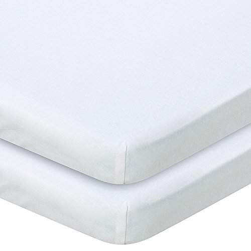 Babies R Us Knit Bassinet Sheet - White by Babies R Us