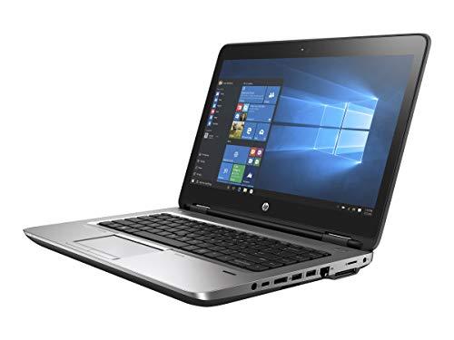 HP ProBook 640 G3 14 Inch Laptop PC, Intel Core i5-7200U up to 3.1GHz, 8G DDR4, 256G SSD, VGA, DP, Windows 10 Pro 64 Bit Multi-Language Support English/French/Spanish(Renewed)