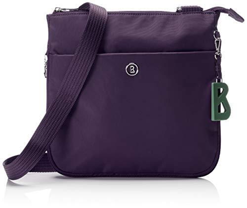 Bogner Damen Verbier Serena Shoulderbag Mvz Schultertasche, Violett (Purple), 7x24x25 cm