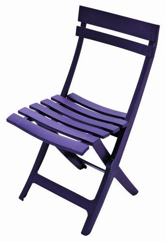 Grosfillex Klappstuhl, Miami, purple, 42 x 9 x 93 cm, 49036214