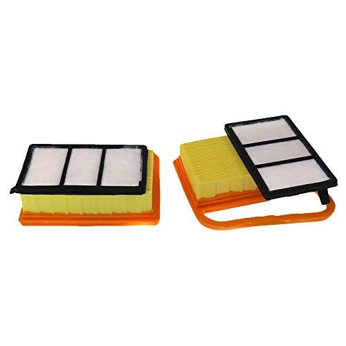 MamimamiH Luftfilter Vorfilter Kit für Stihl TS410 TS420 TS 420 TS 410 Rasenmäher ersetzt 4238 141 0300 (2 Stück)