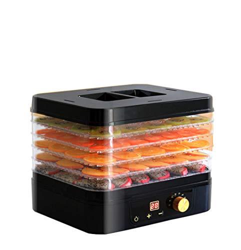 Haushaltsnahrungsmittelkonservierungsmaschine Nahrungsmittelentwässerungsapparat, Multifunktionskleiner intelligenter 360 ° trockener Haushaltsfruchttrockner, 220W